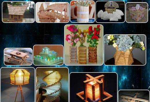 handicraft designs from ice cream sticks screenshot 3
