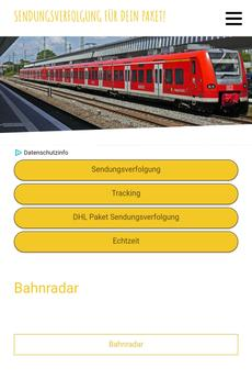 Bahnradar screenshot 2