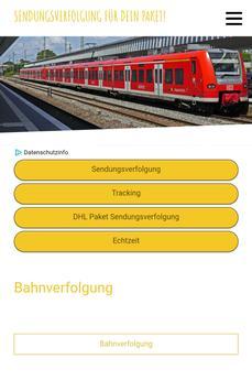Bahnverfolgung screenshot 1