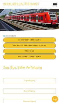 Bahnverfolgung screenshot 3