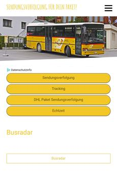 Busradar apk screenshot