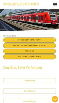 Busverfolgung poster