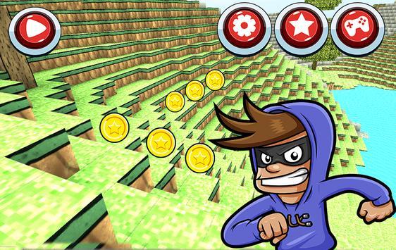 Crafting Runner Game apk screenshot