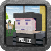 Block Craft game - Emergency icon
