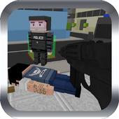 Pixel Block Gun 3d icon