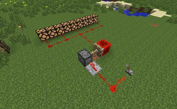 Redstone Mod for Minecraft poster