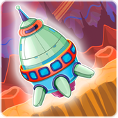 Digger Battle for Mars & Gems icon