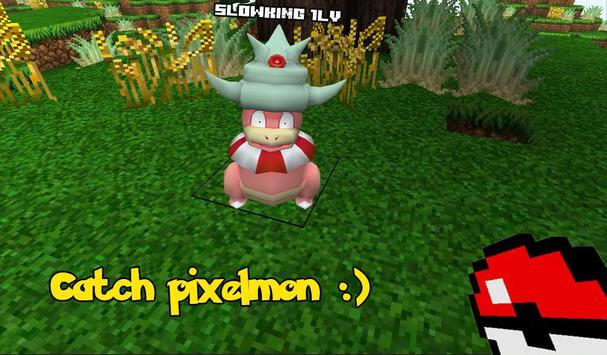 pixelmon exploration: craft GO apk screenshot