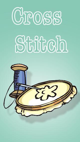 Cross Stitch poster