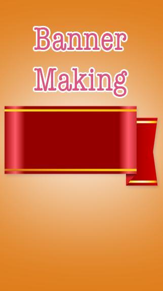 Banner Making poster