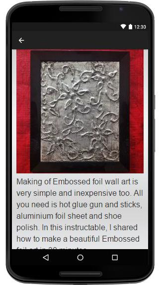 Embossed Metal poster