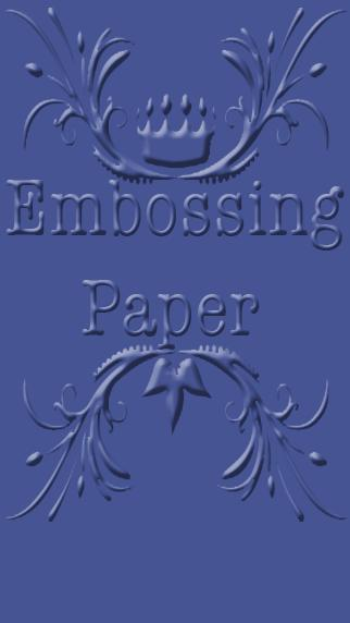 Embossing Paper poster