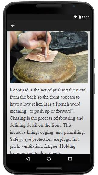 Repousse and Chasing poster