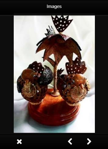 Crafts Using Coconut Shell poster