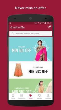 Craftsvilla - Ethnic wear Online Shopping apk screenshot