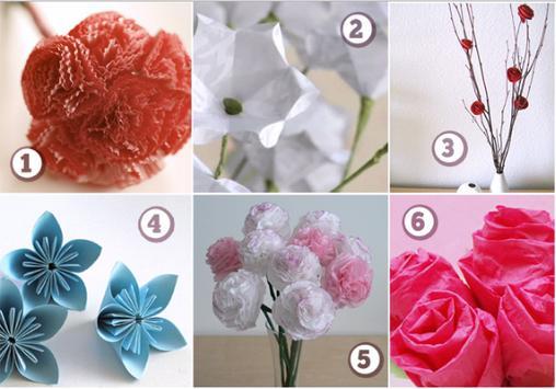 craft paper flowers screenshot 11