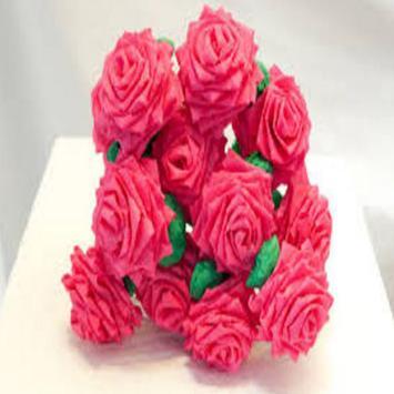 craft papper flowers apk screenshot