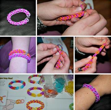Craft Rubber Band Bracelet poster