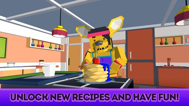 Cute Pets Cafe - Cooking Chef Simulator screenshot 11
