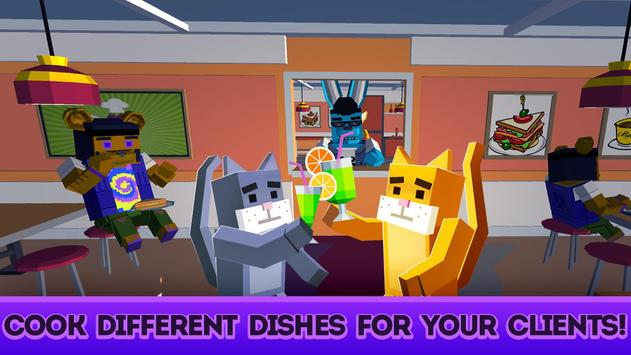 Cute Pets Cafe - Cooking Chef Simulator screenshot 1