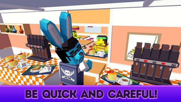 Cute Pets Cafe - Cooking Chef Simulator screenshot 2
