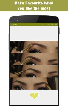 DIY Eyebrows Makeup screenshot 3