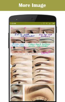 DIY Eyebrows Makeup screenshot 2