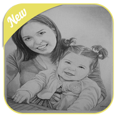 Pencil Sketch Drawing Ideas icon