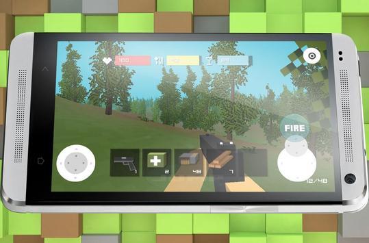 Block Zombie Town screenshot 11