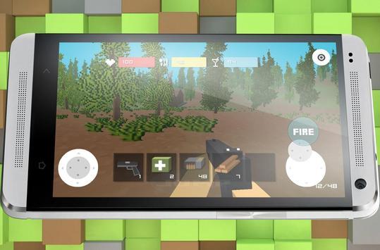 Block Zombie Town screenshot 1