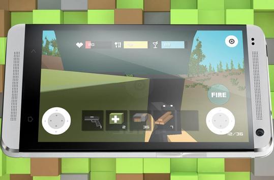 Block Zombie Town screenshot 2
