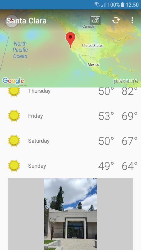santa clara ca weather
