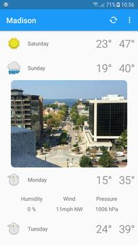 Madison, WI - weather and more for Android - APK Download