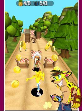 Subway Crash Bandicot Crazy apk screenshot