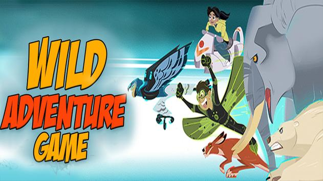🔥 crazy wild crash : kratts Adventure game poster