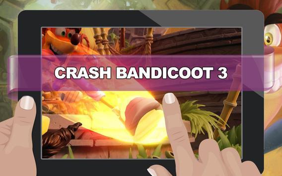 Crash Adventure of Bandicoot 3 apk screenshot