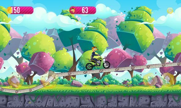 Crash Adventure Motorcycle apk screenshot