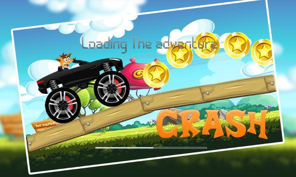 Bandicoot supercars Crazy Adventures poster