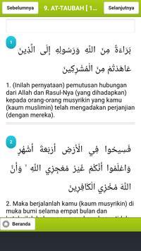 Kitab Suci Al Quran dan Terjemahan screenshot 3
