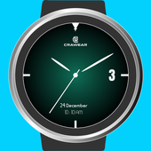 Glowri Analog - Watch Face with inbuilt themes icon