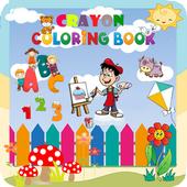 Crayon Coloring Book icon