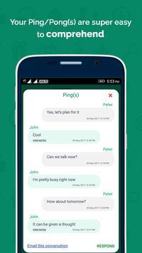 Ping Pong - communicate screenshot 4
