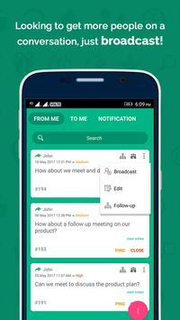 Ping Pong - communicate screenshot 1