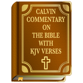 Calvin Commentary on the Bible with KJV Verses icon