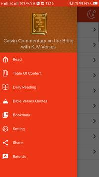 Calvin Commentary on the Bible with KJV Verses apk screenshot