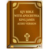 KJV Bible with Apocrypha. King James Audio Version icon