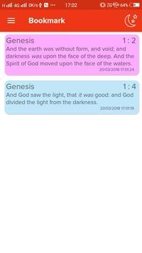 KJV Bible with Apocrypha. King James Audio Version apk screenshot