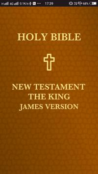 Holy Bible. New Testament. The King James Version poster