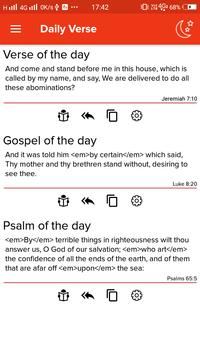 Holy Bible. New Testament. The King James Version apk screenshot