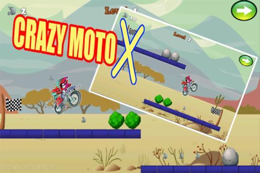 Crazy Moto X poster